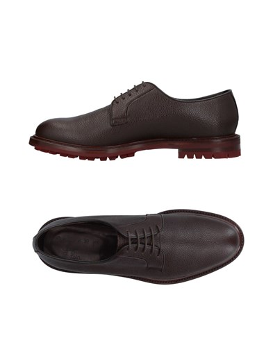 ORTIGNI Lace Up Shoes Dark Brown xUV6MDC