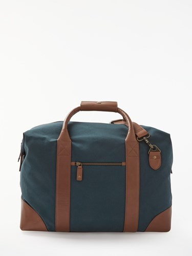 Canvas John IYI0n5FqWo Brown Holdall And Lewis zrFxnz