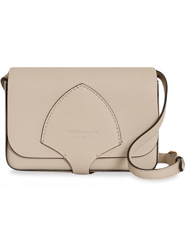 Equestrian Shield Leather Wallet with Detachable Strap - Nude & Neutrals Burberry hdw5GNP