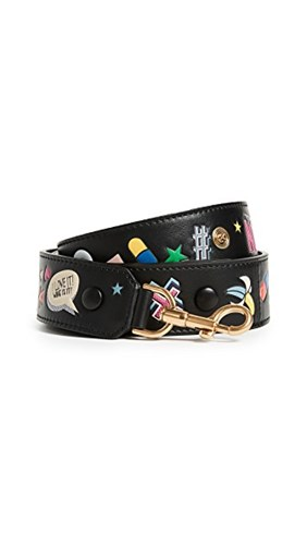 Black Anya Shoulder Strap Hindmarch Allover Wink OwxwCpqZX