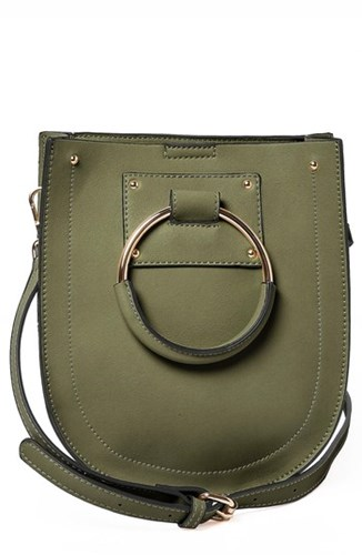 Scandi Faux Crossbody Originals Green Bag Leather Urban a5411q
