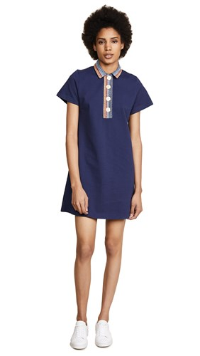Jour/Né Polo Dress Navy T56JN