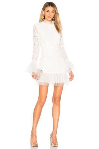 Lost In Light Dress White
