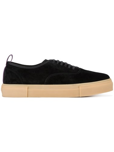 Eytys Mother Suede Sneakers Black DAV4OIg