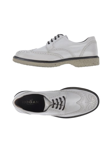 Up Hogan Hogan Up Shoes Shoes Lace White Lace White qgwxSPOf