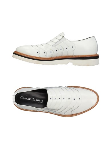 Cesare Paciotti Loafers Ivory UJvmSffwvl