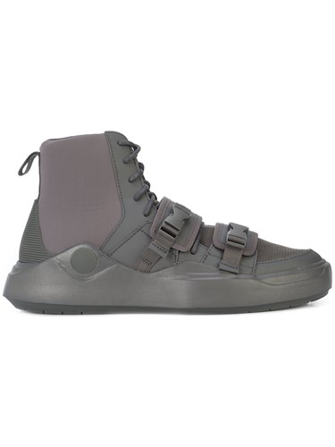 Puma Abyss Han Hi Top Sneakers Grey j9O6gZ8