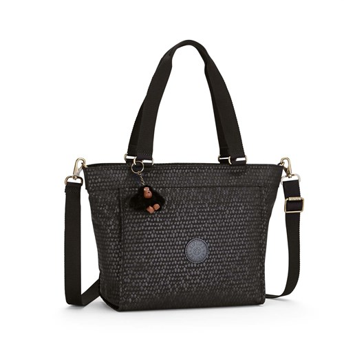 Kipling New Shopper Small Shoulder Bag Black Croc kj7PWconWM
