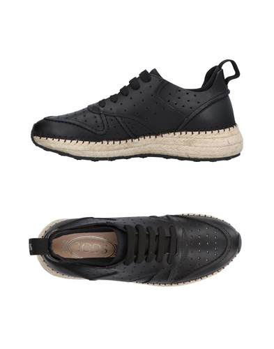 Black Black Sneakers Sneakers Tod's Black Tod's Tod's Sneakers 0qqZ8ant