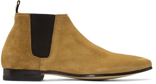 Paul Smith Tan Suede Marlowe Chelsea Boots bHtCpvEjjz