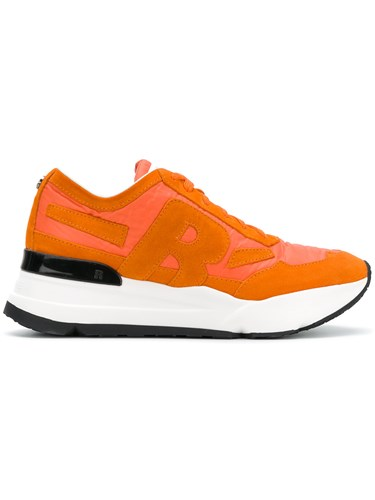 Rucoline Panelled Sneakers Yellow And Orange yv2xK0kO0f
