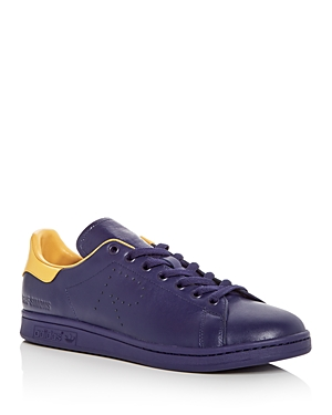 Raf Simons For Adidas Men's Stan Smith Lace Up Sneakers Navy ASHdG4