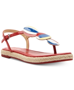 Katy Perry Candice Flat Sandals Women's Shoes Spanish Red BeU8lFw0