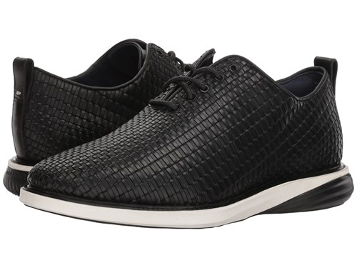 Ivory Oxford Woven Evolution Shoes Grand Cole Black Haan Leather Woven Black Tw8InqZn
