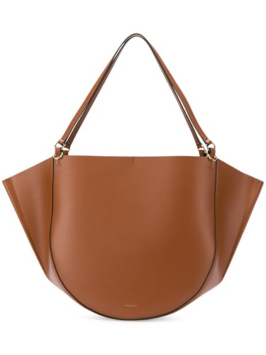 Wandler Mia Tote Brown D0FqACYJG
