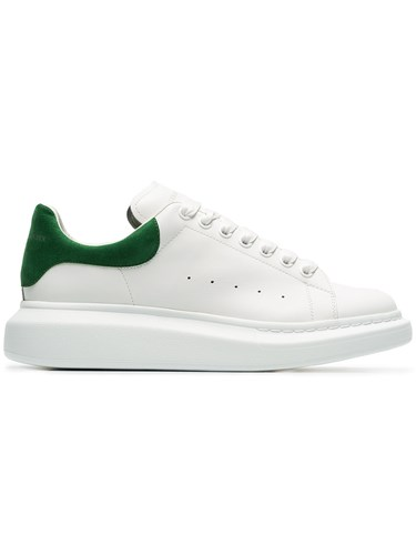 Alexander McQueen Oversized Sole Sneakers White 6QaZG4nO