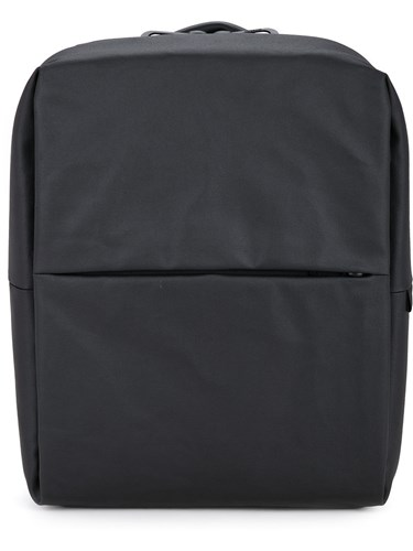 Côte & Ciel Rhine Coated Backpack Unisex Cotton One Size Black M0FgYXSrr2