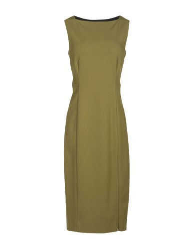Knee Military Diane Furstenberg Green Length Dresses von S6n6OF