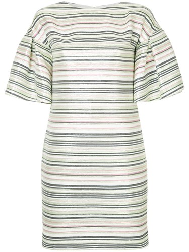 Dress Shift Paris Ingie Green Striped W4gqf