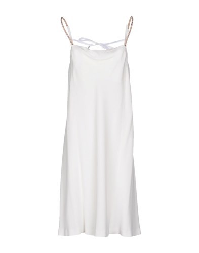 Maison Martin Margiela Mm6 By Dresses Knee Length Dresses Women White WOTGmjb