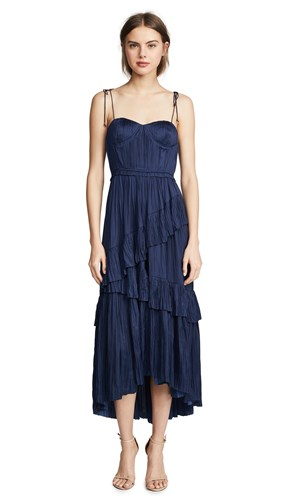 Ulla Johnson Delilah Dress Midnight 4vb7A