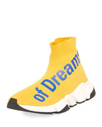 Power Dreams The Of Top Trainer Stretch Balenciaga Yellow High Knit wt5Zqnd4