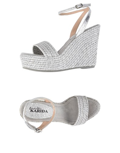 FRATELLI FRATELLI FRATELLI Grey Sandals KARIDA Light Grey Light Sandals KARIDA fqXqxCr