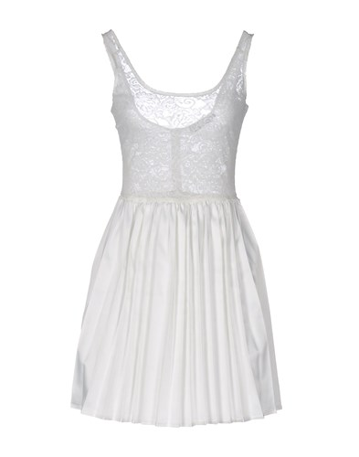 Motel Rocks Dresses Short Motel White Dresses Short Rocks Motel White Rwn1UxTP