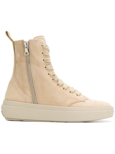 Represent Hi Top Sneakers Nude And Neutrals nqpjsiUHSn