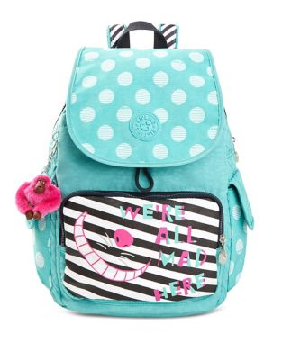 Kipling Tea Party City Pack Denim Backpack NGxflRA