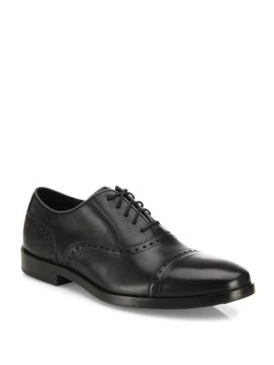 Cole Haan Brogue Leather Oxfords Black glrZv1T