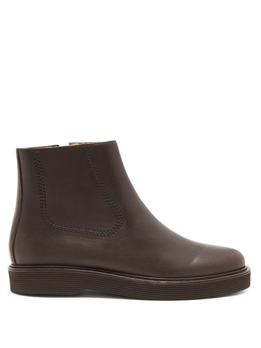 Boots A C Chelsea Brown Trevor P Leather xqvORXq
