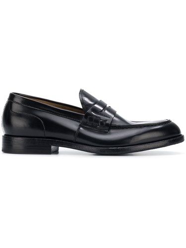 Dell'Oglio Classic Loafers Black DtK5gXn