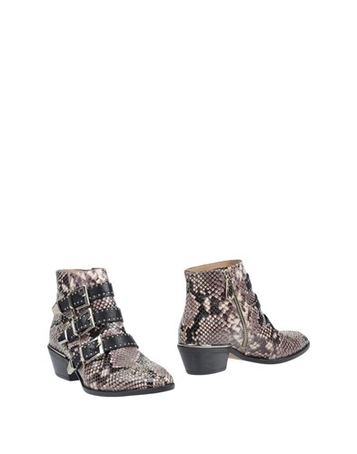 POLETTO Ankle Boots Grey M9lS9ciP