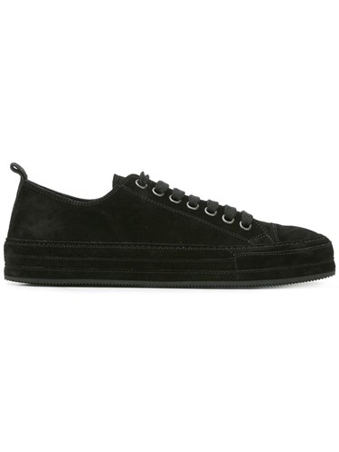 Up Lace Demeulemeester Black Sneakers Ann qz6wdxIEn5
