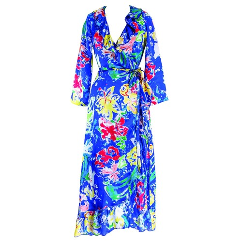 KRAIT London Tropical Bea Dress t151B