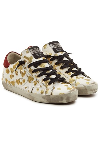 Golden Goose Deluxe Brand Super Star Leather Sneakers White m13w8