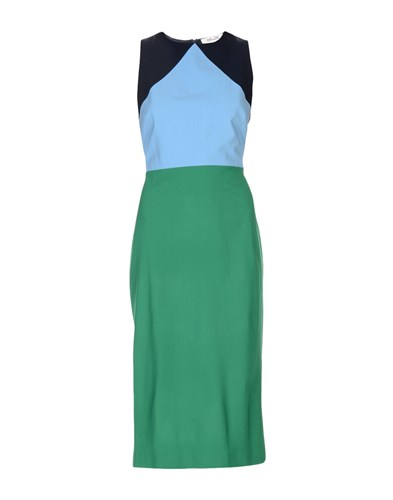 Diane von Furstenberg 3 4 Length Dresses Green uv6uT