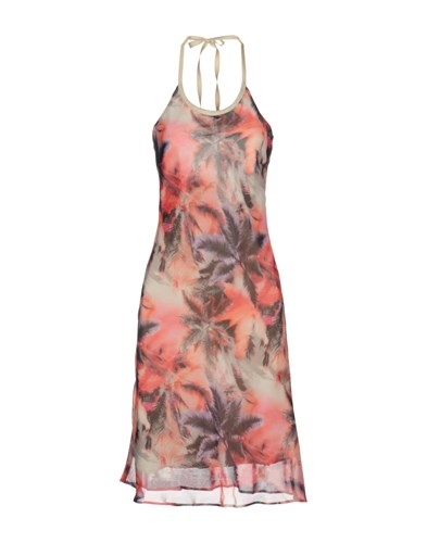 MbyMAIOCCI Short Dresses Coral t3tF55fn2A
