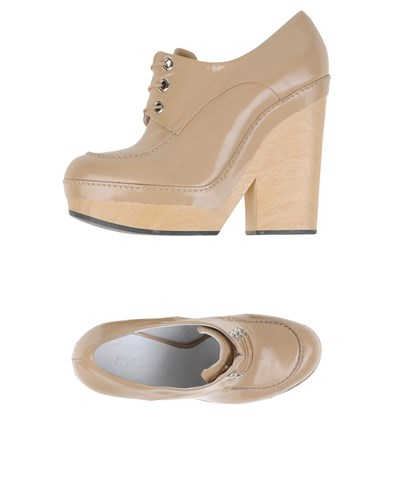 Jil Sander Lace Up Shoes Beige fQrsFgpd
