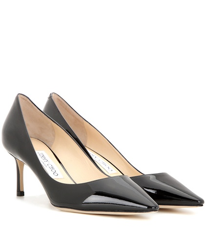 Jimmy Choo Romy 60 Patent Leather Pumps Black uOdibEEtH