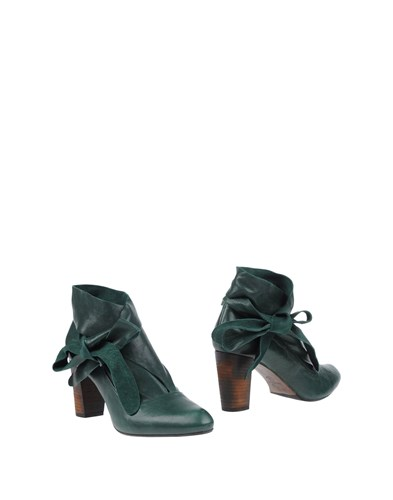 ANAID KUPURI Booties Green gu9RXDNQ
