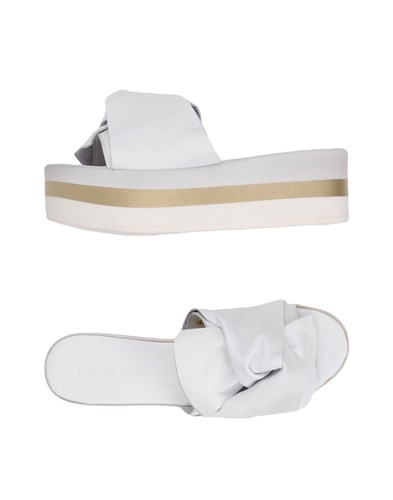 Fabrizio Chini Sandals White PWuA7w0gq