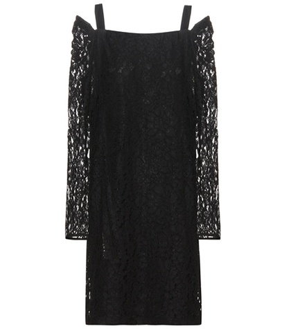 See by Chloe Cotton Dress Black CzY1SYq