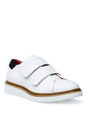 Liebeskind Leather Grip Tape Sneakers White lohorZvu