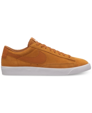 Nike Men's Blazer Low Suede Sneakers From Finish Line Desert Ochre Desert Och loHjcM