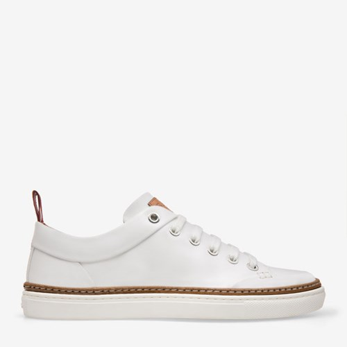 Bally Women's Leather Trainers In White 0300 White vQLGG5jvWy