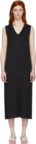 Rag and Bone Black Phoenix V Neck Dress bcBM2GPqB