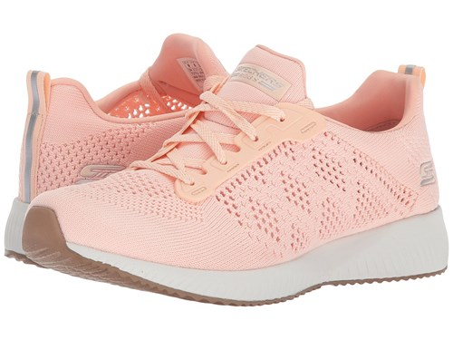 Skechers Bobs From Bobs Squad Ring Master Light Pink Lace Up Casual Shoes LQVAd8F7X