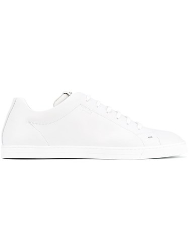 Fendi Lace Up Low Top Sneakers White lfHiIH5gN